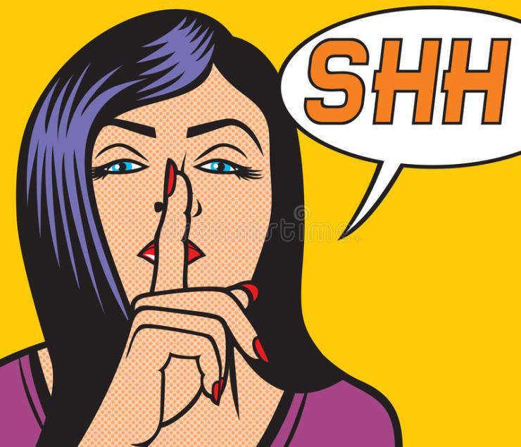 woman-silence-sign-pop-art-illustration-girl-asking-35927449